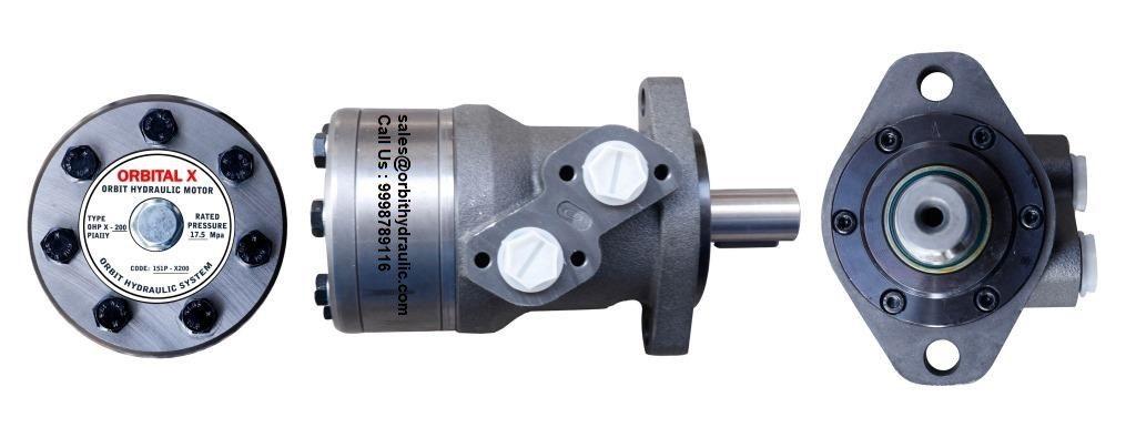 Orbital X Hydraulic Motor of OHP X 25, OHP X 32, OHP X 50, OHP X 80, OHP X 100, OHP X 125, OHP X 160, OHP X 200, OHP X 250, OHP X 315, OHP X 400 Hydraulic Motor in India